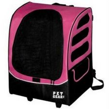 Buy Pet Gear I-GO Plus Traveler Pet Carrier Car Seat Backpack Pink
