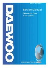 Buy DAEWOO SM KOR-63A5 (E) Service Data by download #150622