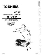 Buy Toshiba M770 Manual by download #172188
