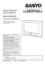 Buy Sanyo CE28DFN2-B-01 SM Manual by download #173099