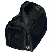 Buy Pet Gear World Traveler Pet Carrier with Wheels Small Black Diamond