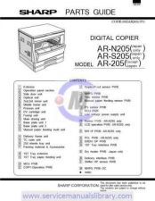 Buy Sharp AR215-235-275-5127 PG REVISED-EDITION GB Manual by download #179384