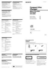 Buy SONY CDX-434RF CZ-SCREEN OPERATING GUIDE by download #166610