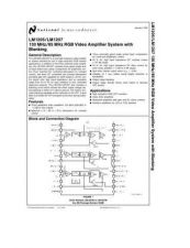 Buy SEMICONDUCTOR DATA LM1207J Manual by download Mauritron #189124