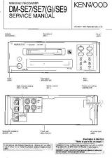 Buy KENWOOD DMSE7 DMSE9 Service Manual by download #151793
