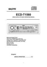 Buy Sanyo ECD-T1545 appvd 5-6-04 Manual by download #174216