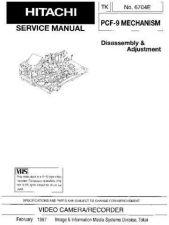 Buy HITACHI No 6704E Service Data by download #147364
