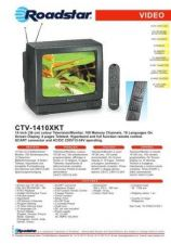 Buy ROADSTAR CTV-1410XKT by download #127980