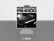 Buy Yamaha PS6100E Operating Guide by download Mauritron #204073