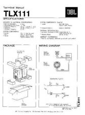 Buy INFINITY TLX151 , V1 Service Manual by download #151667