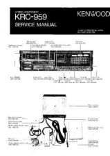 Buy Kenwood KRC959 Service Manual by download Mauritron #192418