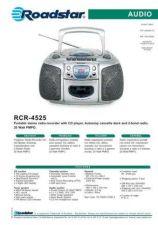 Buy ROADSTAR RCR-4525 by download #128463