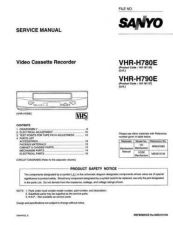 Buy Sanyo VHR-H780E Manual by download #177472
