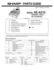 Buy Sharp 514 XEA202VPG Manual by download #178575