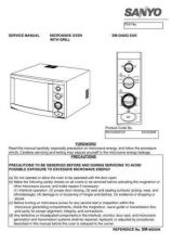 Buy Sanyo Service Manual For EM-G2051EES Manual by download #175781