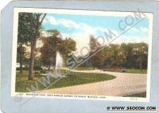 Buy CT Meriden Postcard Brookside Park Near Bunker Avenue Entrance ct_box3~1266