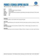 Buy Minolta 3476 POOR GRADATION PATTERN Service Schematics by download #136626