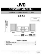 Buy JVC EX-A1 Service Manual by download Mauritron #192615