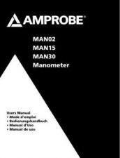 Buy Amprobe MAN15 Operating Guide User Instructions by download Mauritron #194422
