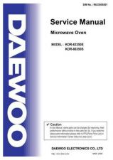 Buy Daewoo R631Q2A001 Manual by download #168853