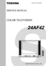 Buy TOSHIBA 24AF42 TECH INFO by download #132074