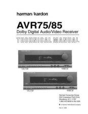 Buy HARMAN KARDON K-AVR85 SM Manual by download Mauritron #185661