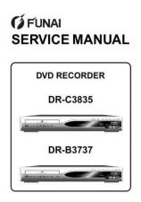 Buy Funai FUNAI DR-C3835 -B3737 (E7B22FD 25BD) SERVICE MANUAL Manual by download #16