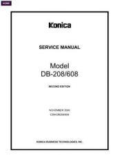 Buy Konica DB208SM Service Schematics by download #135549