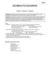 Buy 34AX9UH cd Service Schematics by download #129828