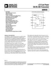 Buy INTEGRATED CIRCUIT DATA ADM485J Manual by download Mauritron #186427