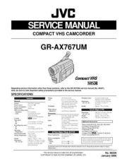 Buy GR-AX767UM 86539 Service Schematics by download #130334