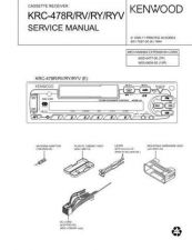Buy KRC-578R RY 680R Service Schematics by download #131691