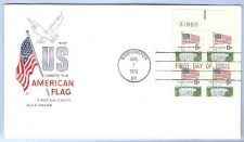 Buy DC Washington First Day Cover / Commemorative Cover Flag~50