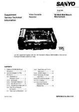 Buy SONY MECHANISM-92-MIDI Service Manual by download #167070