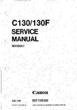 Buy CANON C130SM Service Manual by download #137692