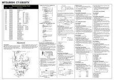 Buy MITSUBISHI CT33B3 STX Schematics plus by download #152287
