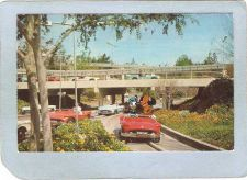 Buy CA Anaheim Amusement Park Postcard Disneyland Tomorrowland Autopia top_box~225