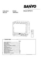 Buy Sanyo CBP3018 Manual by download #172796