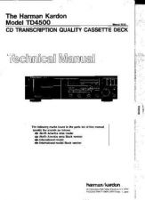 Buy INFINITY TD4500 SM Service Manual by download #151602