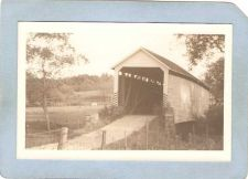 Buy GEN Unknown Covered Bridge Postcard Covered Bridge Real Photo Post Card RP~1045