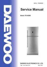 Buy DAEWOO SM FR-4506K (E) Service Data by download #146822