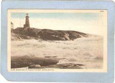 Buy CAN Nova Scotia Lighthouse Postcard Peggy's Point Light w/Surf lighthouse_~992
