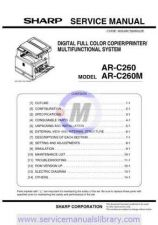 Buy Sharp ARC262M SM GB Manual by download #179533