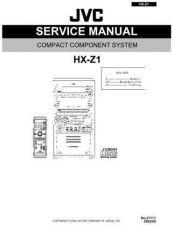 Buy JVC HX-Z1uw Service Schematics by download #155997