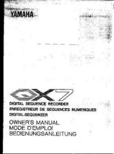 Buy Yamaha QX7E Operating Guide by download Mauritron #205137