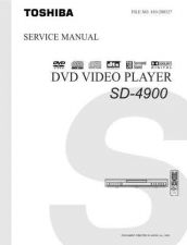Buy Toshiba SD4900 Service Manual by download Mauritron #192822
