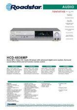 Buy ROADSTAR HCD-6836MP by download #128144