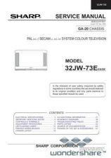 Buy Sharp 32JW73E SM GB(1) Manual.pdf_page_1 by download #178273