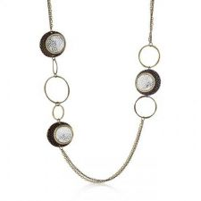 Buy Vintage Two-toned Multi-texture Necklace