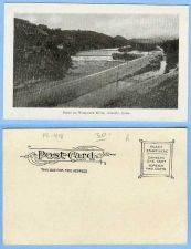Buy CT Ansonia Scene On Naugatuck River Scene of River and RR Tracks ct_album,~418